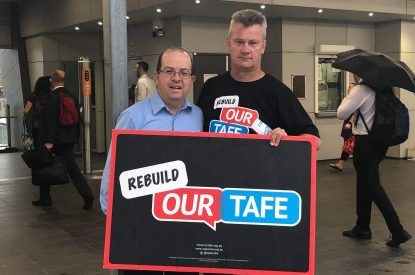 TAFENSW's inappropriate use of contracted security guards
