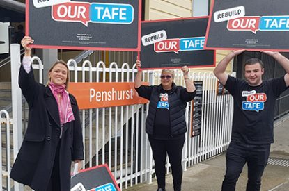 Summary on TAFE's job cuts